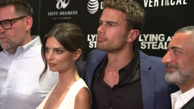 "NY: ""Lying and Stealing"" Premiere"