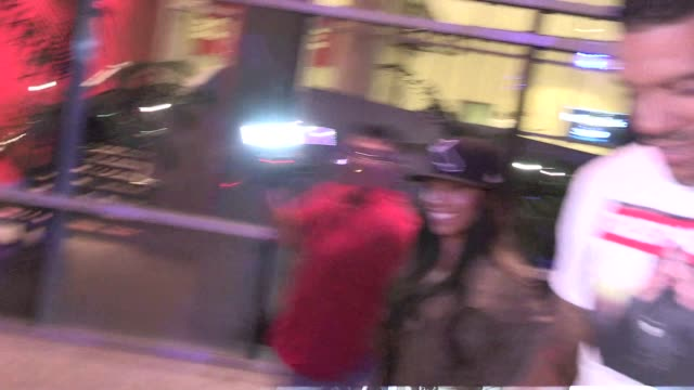 Matt Barnes Gloria Govan on the energy of the Kings victory over the Rangers at the LA Kings vs NY Rangers Game 5 Stanley Cup Finals at the Staples...
