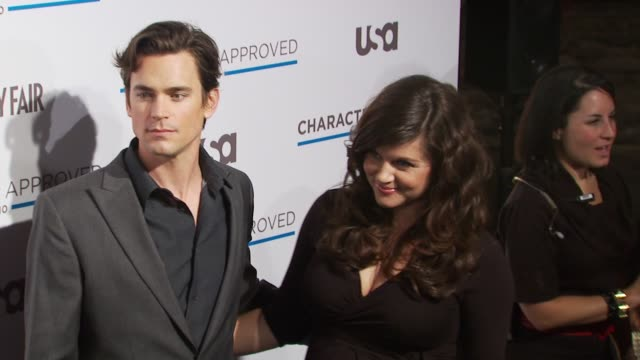 Matt Bomer and TiffaniAmber Thiessen at the 2nd Annual Character Approved Awards Cocktail Reception at New York NY