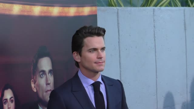 Matt Bomer at the Amazon Original Series 'The Last Tycoon' Premiere at the Harmony Gold Preview House and Theater on July 27 2017 in Hollywood...