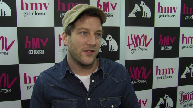 matt cardle on the journey from winning 'x factor' at the matt cardle promotes his debut album 'letters' at london england - television show stock videos & royalty-free footage