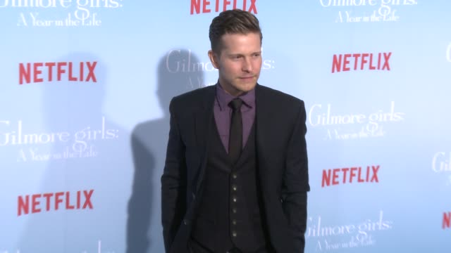 Matt Czuchry at the Premiere of Netflix's Gilmore Girls A Year In The Life at Regency Bruin Theater on November 18 2016 in Westwood California