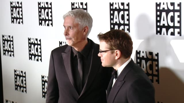 Matt Damon Christopher Rouse at 65th Annual ACE Eddie Awards in Los Angeles CA