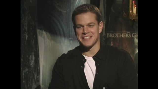 matt damon on getting a male stripper for lena headey - heath ledger stock videos & royalty-free footage