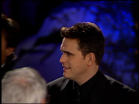 Matt Dillon at the 1998 Academy Awards Vanity Fair Party at Morton's in West Hollywood California on March 23 1998