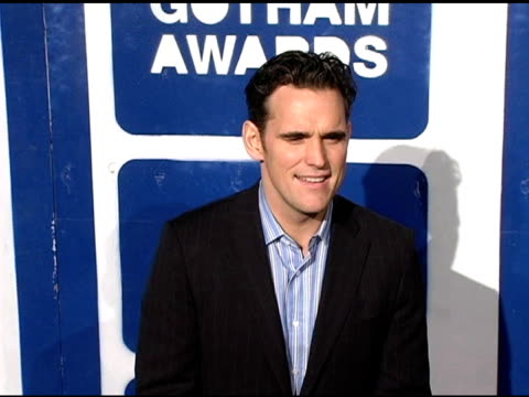 matt dillon at the ifp's 15th annual gotham awards arrivals at pier 60 at chelsea piers in new york, new york on november 30, 2005. - independent feature project video stock e b–roll