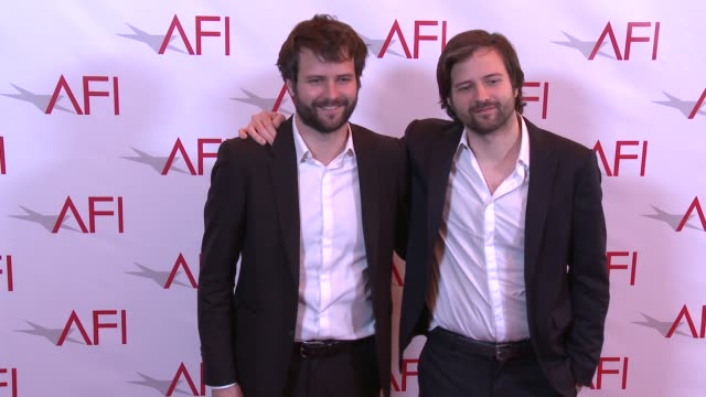 matt duffer and ross duffer at 17th annual afi awards at four seasons hotel los angeles at beverly hills on january 06, 2017 in los angeles,... - four seasons hotel stock videos & royalty-free footage