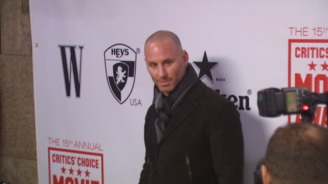 Matt Gerald at the 15th Annual Critics' Choice Movie Awards AfterParty at Hollywood CA