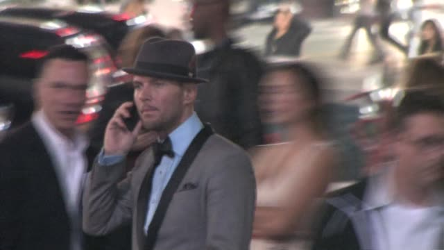 matt goss at the premiere of 'burlesque' in hollywood at the celebrity sightings in los angeles at los angeles ca. - burlesque stock videos & royalty-free footage