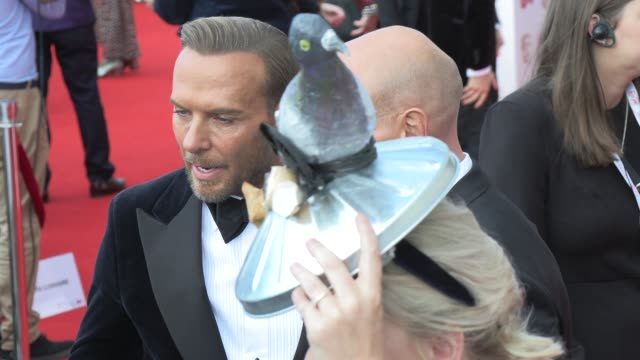 matt goss luke goss daisy may cooper at the royal festival hall on may 12 2019 in london england - british academy television awards stock videos & royalty-free footage