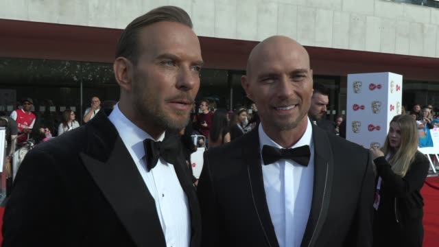 matt goss luke goss on current life history and looking to the future at the royal festival hall on may 12 2019 in london england - british academy television awards stock videos & royalty-free footage