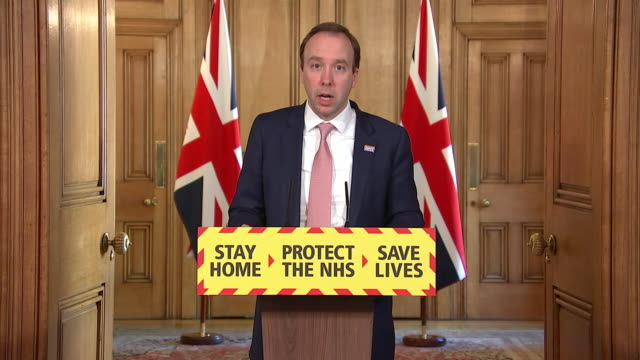 matt hancock saying the government are buying ppe from around the world and working to manufacture more domestically to supply the nhs during the... - spreading stock videos & royalty-free footage