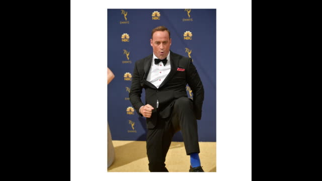 vídeos de stock, filmes e b-roll de matt iseman attends the 70th emmy awards at microsoft theater on september 17 2018 in los angeles california - 70th annual primetime emmy awards
