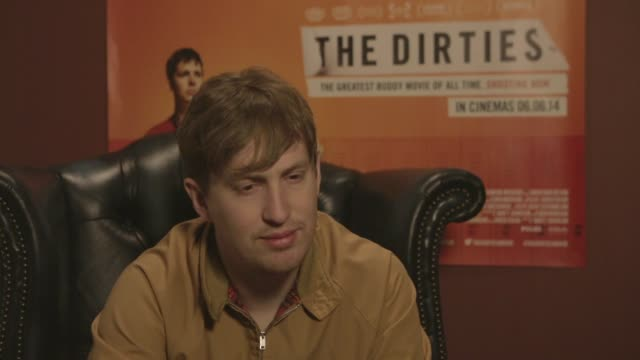 Matt Johnson on the movie's evolution at 'The Dirties' interview on 4 June 2014 in London England