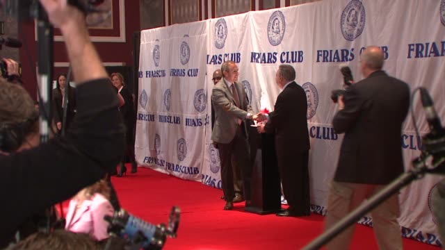 matt lauer and al roker at the friars club roast of matt lauer at new york ny. - matt lauer stock videos & royalty-free footage
