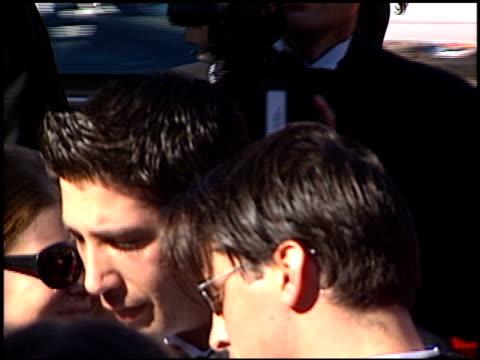 matt leblanc at the 1996 emmy arrivals at the pasadena civic auditorium in pasadena california on september 8 1996 - matt leblanc stock videos and b-roll footage
