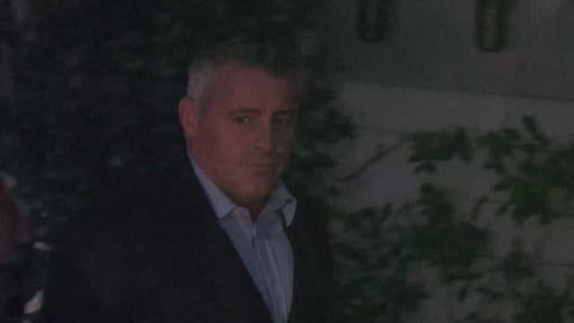 matt leblanc at the 2015 showtime emmy eve party at sunset tower hotel in west hollywood at celebrity sightings in los angeles on september 19 2015... - matt leblanc stock videos and b-roll footage