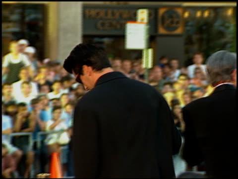 matt leblanc at the 'waterworld' premiere at grauman's chinese theatre in hollywood california on july 26 1995 - matt leblanc stock videos and b-roll footage