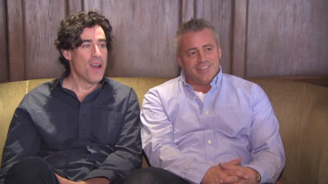 INTERVIEW Matt LeBlanc Stephen Mangan on 'Friends' 250 episodes of friends keeping the show going for so long seeing 'Green Wing' season 4 at...