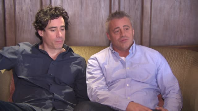 INTERVIEW Matt LeBlanc Stephen Mangan on Kathleen Rose Perkins and Matt LeBlanc never doing scenes together the show is at it's best when they are...