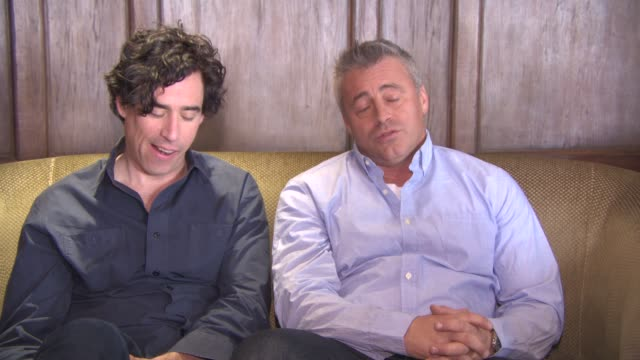 INTERVIEW Matt LeBlanc Stephen Mangan on life after Friends 'Joey' nothing can replace friends David Schwimmer in Episodes working with a great...