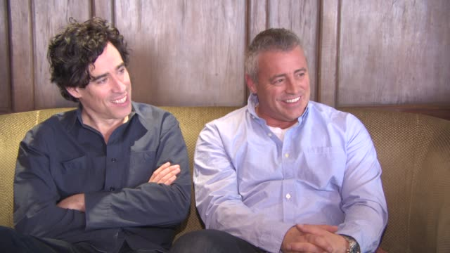 INTERVIEW Matt LeBlanc Stephen Mangan on personal finances money in Hollywood losing 32million dollars Hollywood's golden ticket at 'Episodes'...