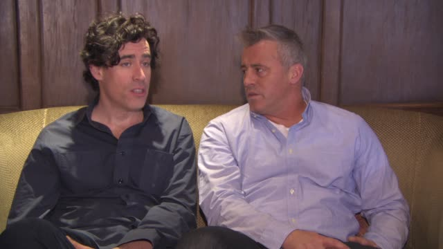 INTERVIEW Matt LeBlanc Stephen Mangan on where the comedy is within the show Matt LeBlanc character story lines at 'Episodes' Interview on April 26...