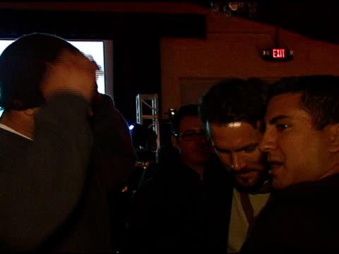 Matt Leinart and Ryan Reynolds at the 2007 Sundance Film Festival Motorola Latenight Lounge on January 20 2007