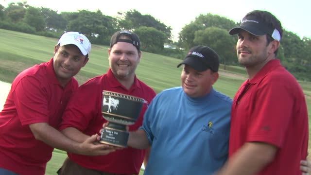 Matt Leinart and winning golf team at the 2nd Annual Amaury Nolasco Friends Golf Classic at Fajardo