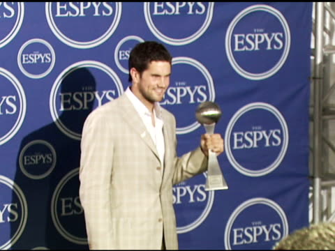 Matt Leinart at the 2006 ESPY Awards press room at the Kodak Theatre in Hollywood California on July 12 2006