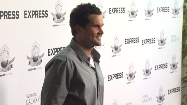 Matt Leinart at the Matt Leinart's Fourth Annual 'Bowling With The Stars' Event at Hollywood CA