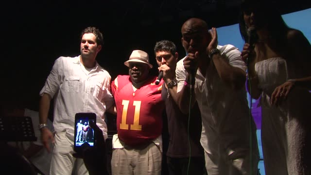 Matt Leinart Cedric the Entertainer Wilmer Valderrrama and Amaury Nolasco at the 2nd Annual Amaury Nolasco Friends Golf Classic Day 2 at Fajardo