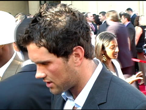 Matt Leinart on who he is looking forward to seeing tonight and on Coach Pete Carrol's nomination at the 13th Annual ESPY Awards Arrivals at the...
