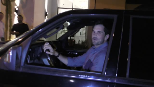 INTERVIEW Matt Leinart talks about ESPN's 30 for 30 outside Catch Restaurant in West Hollywood in Celebrity Sightings in Los Angeles