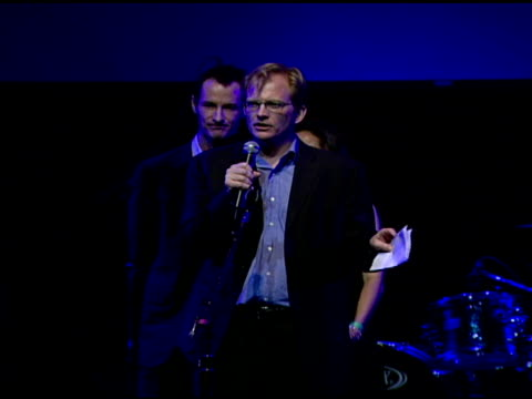 vídeos de stock, filmes e b-roll de matt petersen ceo of global green usa on voting for candidates who support the environment at the global green usa's 5th annual preoscar party at... - global green usa