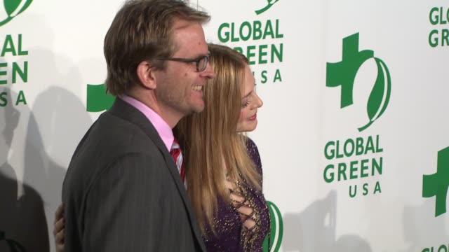 matt petersen heather graham at the global green usa's 6th annual preoscar party benefiting green schools at los angeles ca - pre party stock videos and b-roll footage