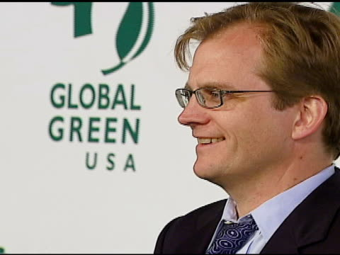 matt petersen, president and ceo, global green usa at the 3rd annual pre-oscar party hosted by global green usa on february 21, 2007. - oscar party stock videos & royalty-free footage