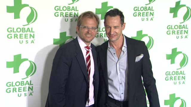 Matt Petersen Sebastian Copeland at Global Green USA's 10th Annual PreOscar Party on 2/20/13 in Los Angeles CA