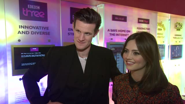 INTERVIEW Matt Smith and Jenna Louise Coleman on what to expect from the Christmas Special at the Doctor Who Cast Discuss Christmas Special 2012 BBC...