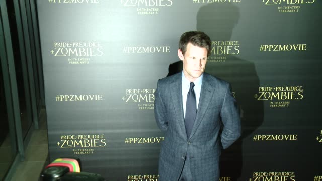 Matt Smith at the 'Pride And Prejudice And Zombies' Los Angeles Premiere at Harmony Gold Theater on January 21 2016 in Los Angeles California