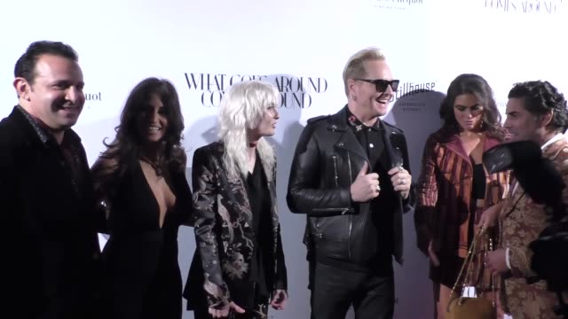 matt sorum and ace harper at the opening of what goes around comes around in beverly hills - ace stock videos and b-roll footage