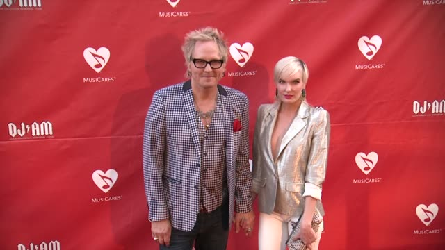 Matt Sorum at 2014 10th Annual MusiCares MAP Fund Benefit Concert Arrivals at Club Nokia on May 12 2014 in Los Angeles California