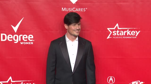 matteo setti at 2014 musicares person of the year honoring carole king at los angeles convention center on in los angeles california - musicares foundation stock videos & royalty-free footage
