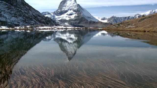Matterhorn mountain in the Pennine Alps, Switzerland