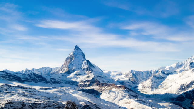 Matterhorn Zermatt in der Schweiz