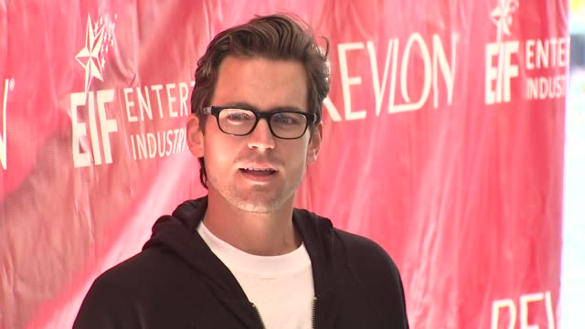 matthew bomer at the 14th annual entertainment industry foundation revlon run/walk for women at new york ny - revlon stock videos and b-roll footage