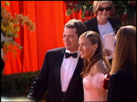 matthew broderick at the 2000 emmy awards at the shrine auditorium in los angeles, california on september 10, 2000. - shrine auditorium stock videos & royalty-free footage