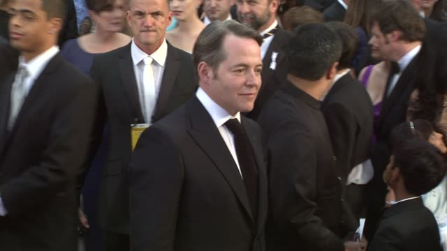 matthew broderick at the 81st academy awards arrivals part 2 at los angeles ca - matthew broderick stock videos & royalty-free footage