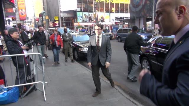 vidéos et rushes de matthew broderick at the 'good morning america' studio matthew broderick at the 'good morning america' st on april 20, 2012 in new york, new york - matthew broderick