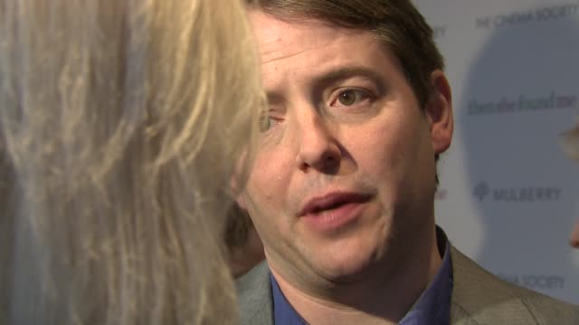 """matthew broderick at the new york premiere of """"then she found me"""" at the amc lincoln square theater in new york, new york on april 21, 2008. - matthew broderick stock videos & royalty-free footage"""